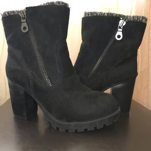 Mossimo Chunky Heeled Boot